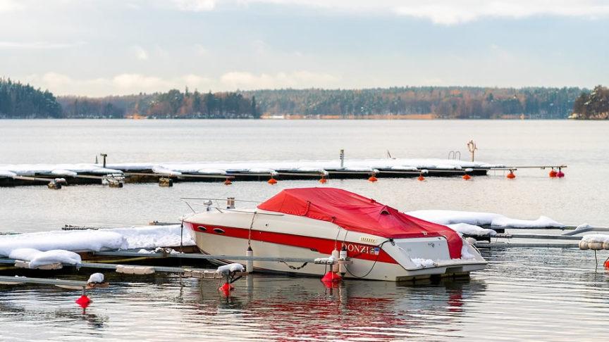 winterizing a boat
